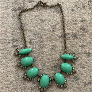 Turquoise J.crew necklace